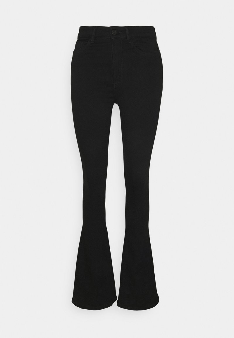 Noisy May Tall - NMSALLIE - Flared jeans - black