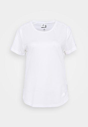 RUN IT TEE - T-shirt basic - white