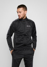 Champion - TRACKSUIT TAPE - Survêtement - black - 0