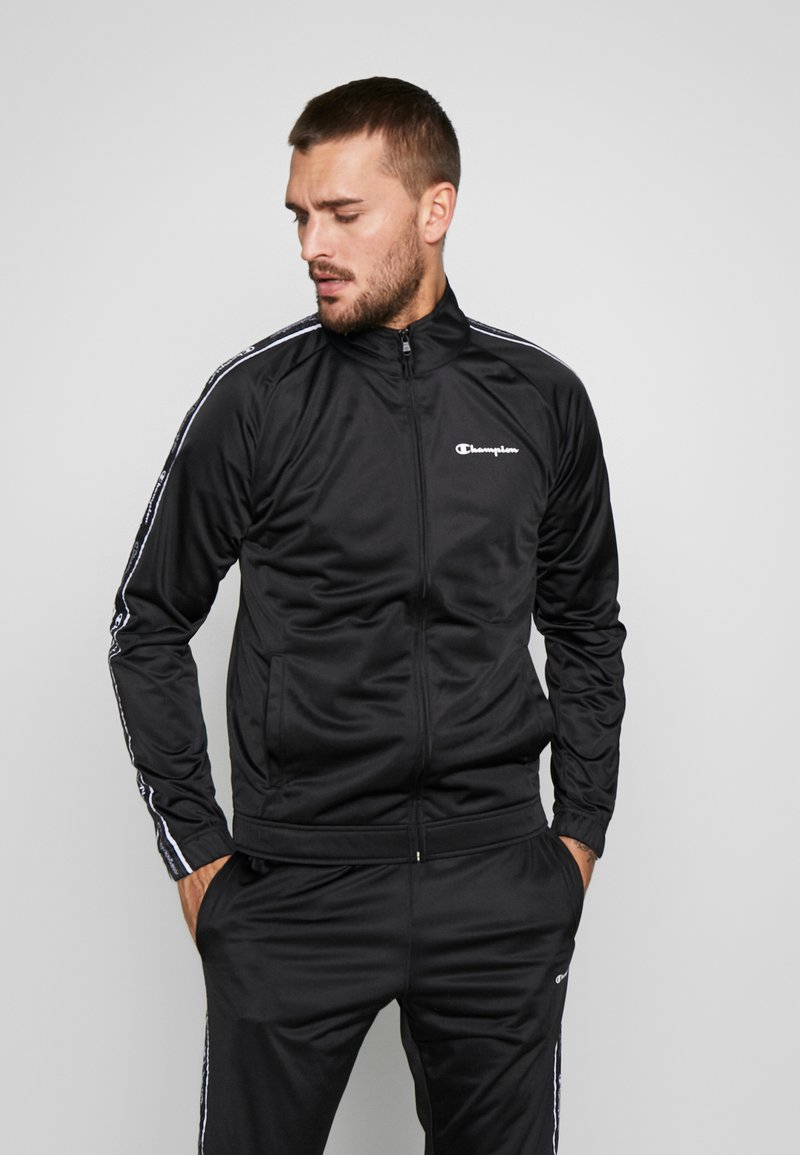 Champion - TRACKSUIT TAPE - Survêtement - black