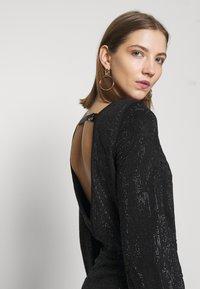 Diesel - D-RENEE-BLING-V2 DRESS - Jersey dress - black - 4
