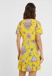 Desigual - LEMARK - Day dress - yellow - 2