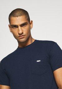 Obey Clothing - JUMBLED BASIC POCKET TEE - T-shirt basic - navy - 4