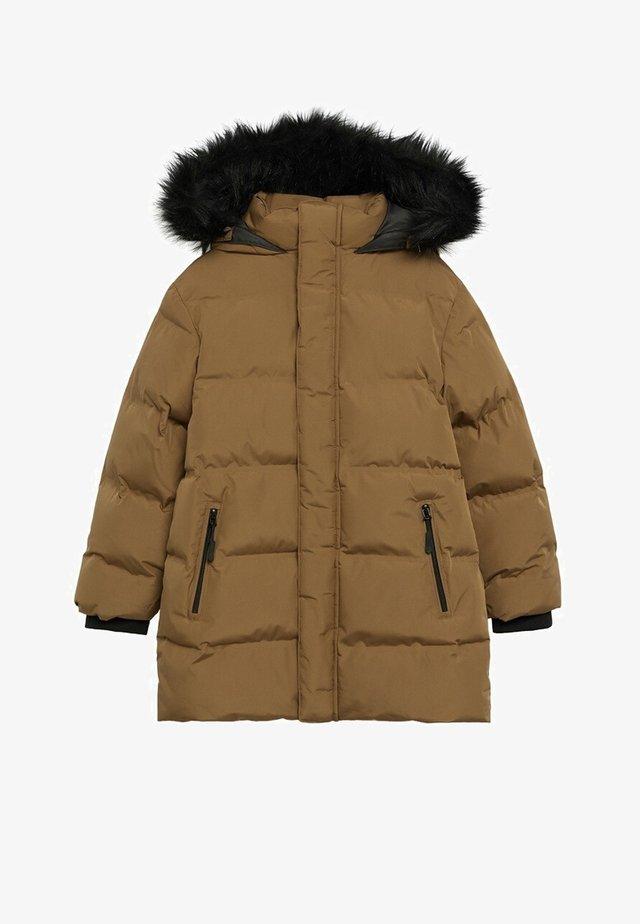 LORENZO - Winter coat - okker