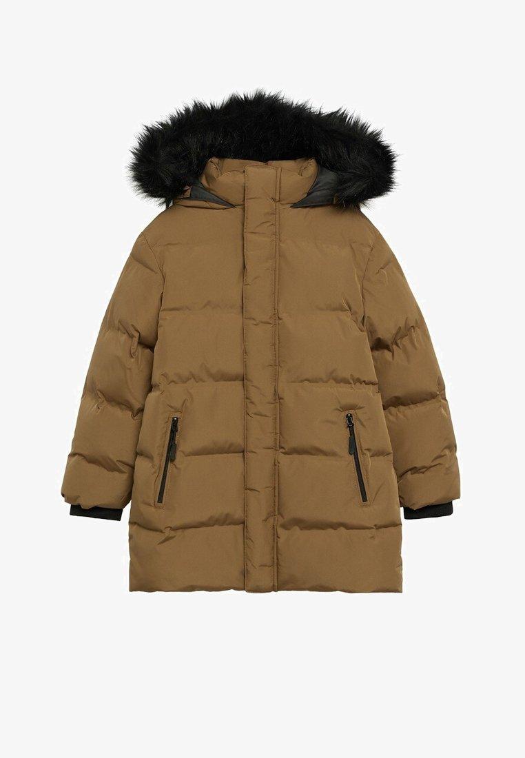 Mango - LORENZO - Winter coat - okker