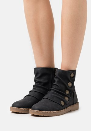 VEGAN COZY UP - Classic ankle boots - black prospector
