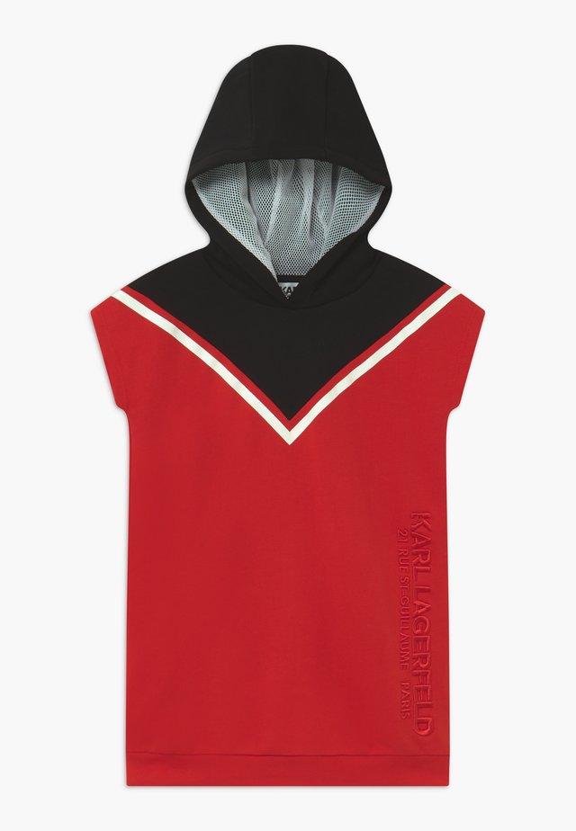 Vestito estivo - red/black