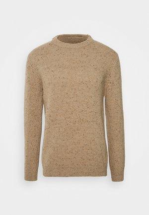 BENNER  - Stickad tröja - tannin melange