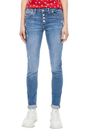 SKINNY FIT: SUPER SKINNY ANKLE-JEANS - Jeans Skinny Fit - blue stretched den