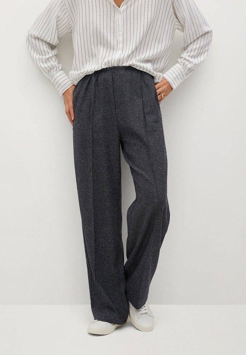 Mango - SOFT - Pantalon classique - grigio