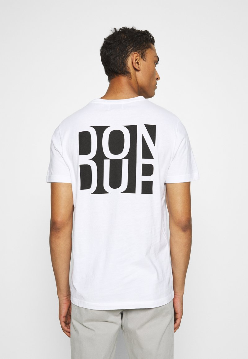 Dondup - T-shirt print - white