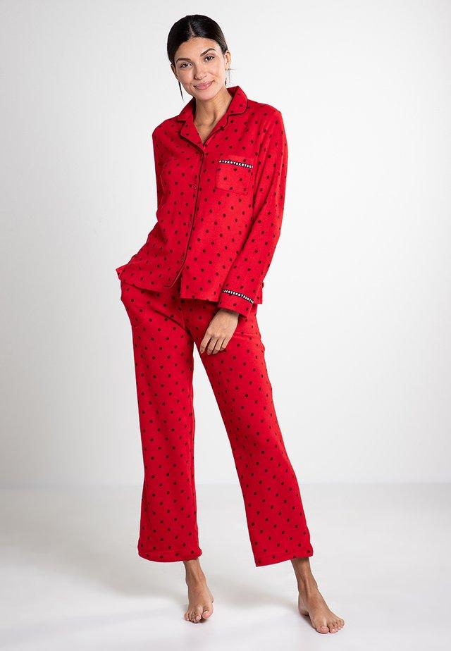 Pijama - cranberry token