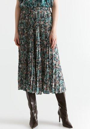 Áčková sukně - dark mint