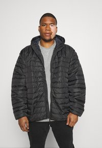Only & Sons - ONSPAUL HOOD JACKET - Light jacket - black - 0