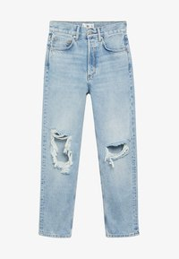Mango - SELINA - Straight leg jeans - middenblauw - 5