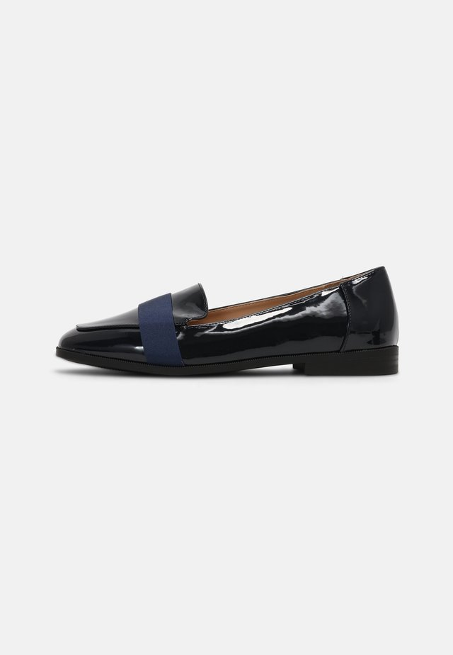 WIDELAMA - GROSGRAIN LOAFER - Instappers - navy patent