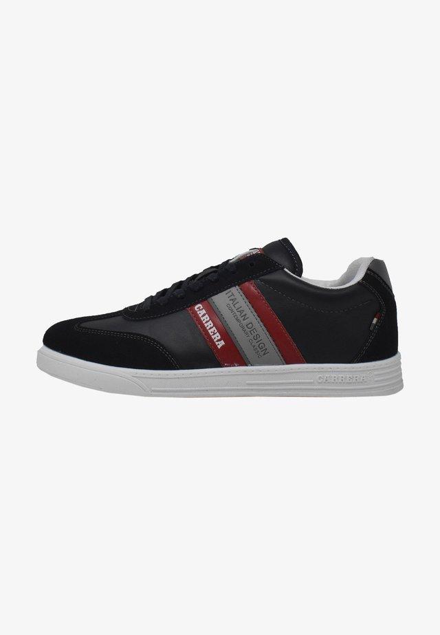 Sneakers basse - deep blue-red