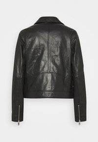Part Two - ELAIA - Leather jacket - black - 1