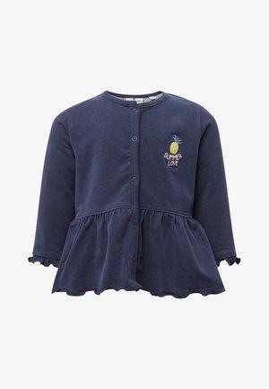 MIT SCHÖSSCHEN - Sweater met rits - dark blue