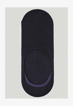Trainer socks - blue-black denim