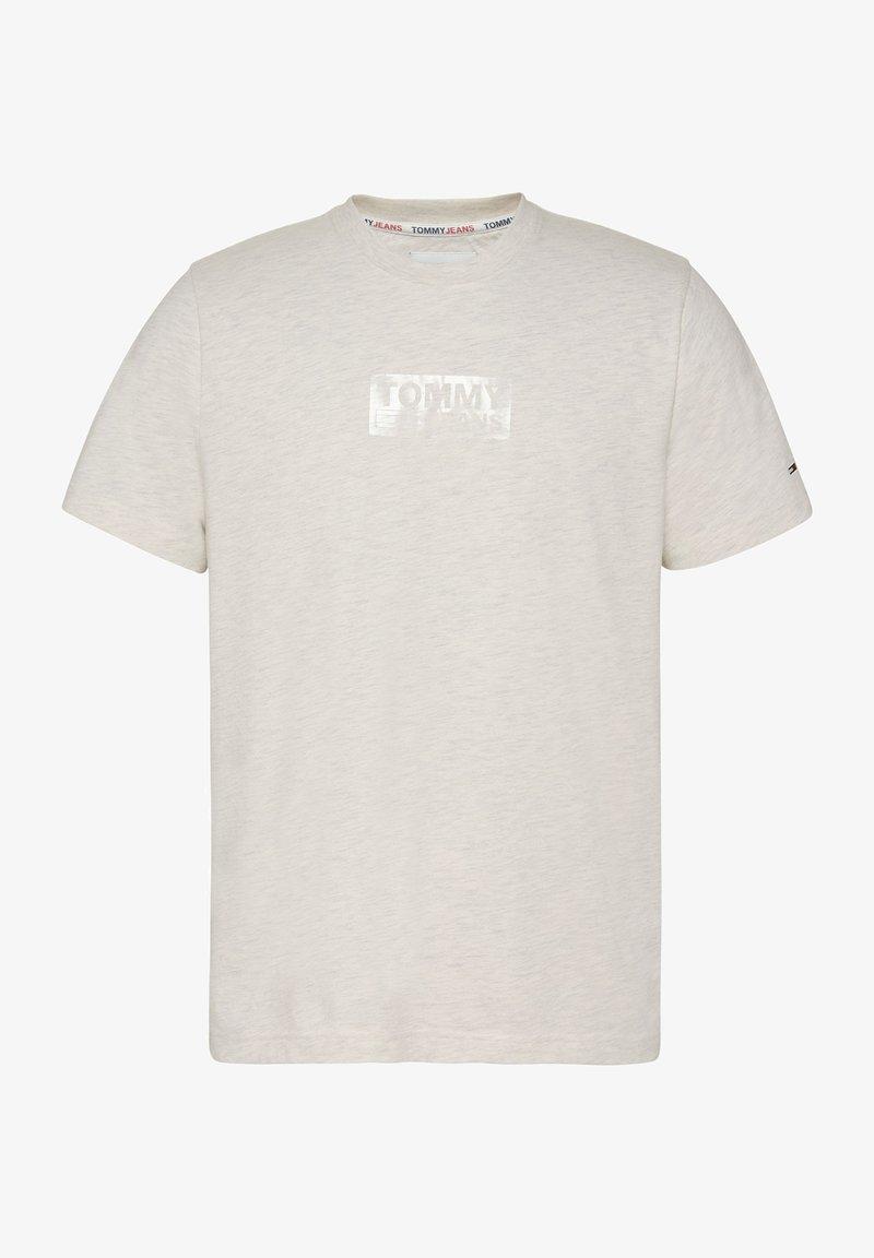Tommy Jeans - T-shirt med print - beige