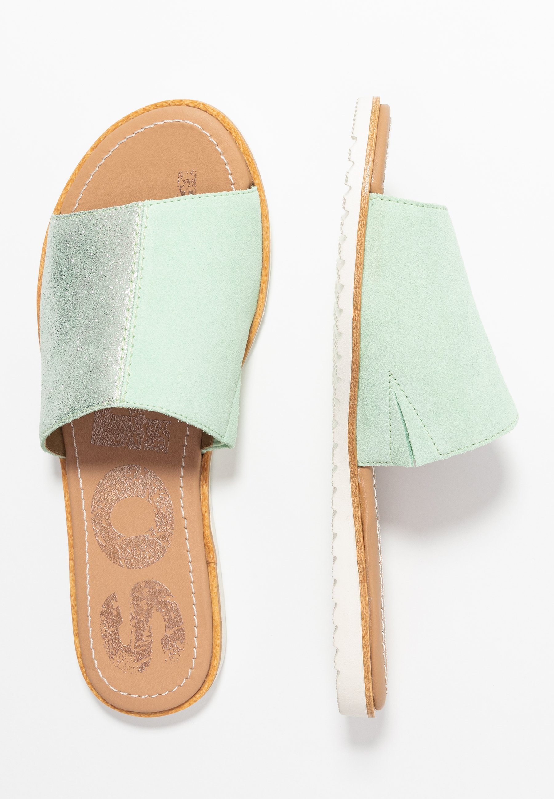 Sorel Ella Block Slide - Sandaler Vivid Mint