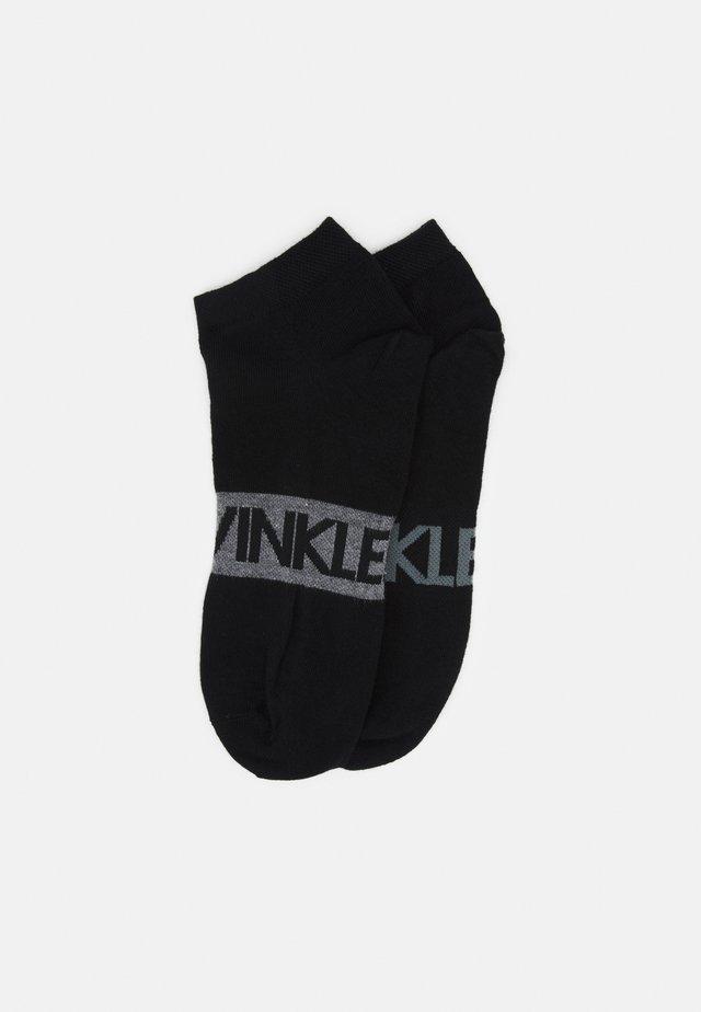MEN LINER INTENSE POWER DIRK 2 PACK - Socks - black combo