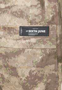 Sixth June - MINIMAL PANTS - Cargo trousers - beige - 2