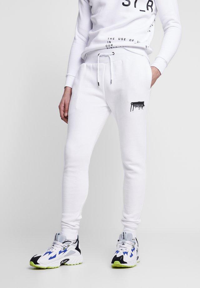 Joggebukse - white