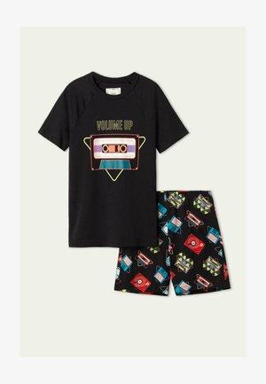 KURZER PYJAMA - Pyjama - schwarz  nero