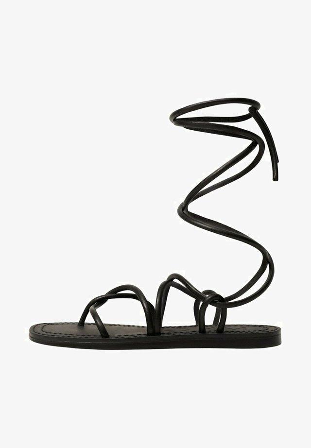 Sandały - schwarz