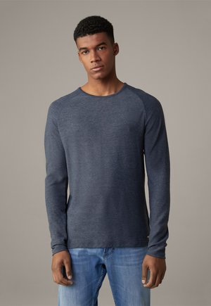 PROSPECT - Long sleeved top - dunkelblau