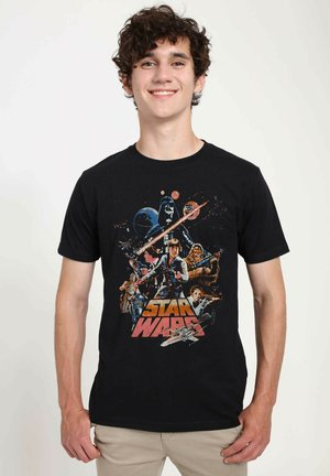 STAR WARS UNISEX STAND AND FIGHT - T-shirts print - black
