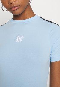 SIKSILK - SKY TAPE BODYCON DRESS - Jersey dress - light blue - 5