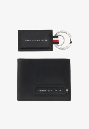 MODERN WALLET SET - Keyring - black