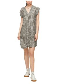 s.Oliver - Day dress - khaki aop - 5
