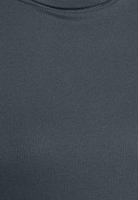 New Look - COSY ROLL NECK - Long sleeved top - dark grey - 2