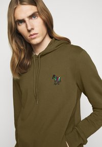 PS Paul Smith - ZEBRA SOPO HOODIE - Hoodie - khaki - 3