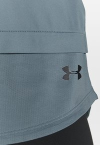 Under Armour - SPORT TANK - Sportshirt - hushed turquoise/black - 5