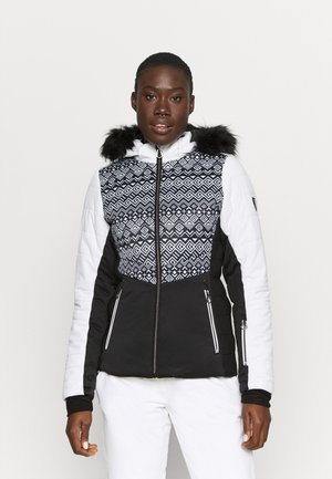 AURORAL JACKET - Ski jacket - black/white