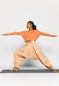 Free People - WADE AWAY HAREM - Trousers - med orange - 1