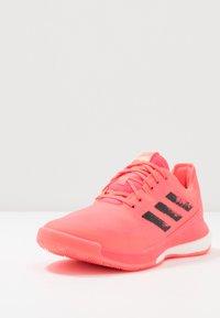 adidas Performance - CRAZYFLIGHT TOKYO - Volleyballsko - signal pink/core black - 2