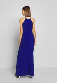 WAL G. - SCALLOP EDGE DRESS - Společenské šaty - electric blue - 2