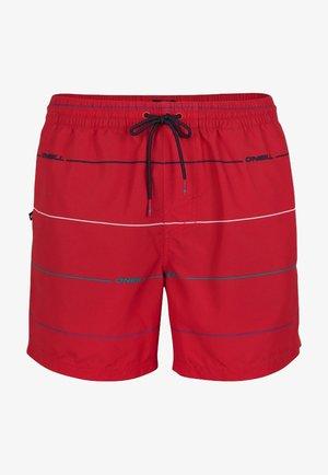 Short de bain - red with