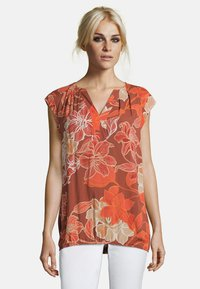 Cartoon - MIT MUSTER - Blouse - red/red - 0