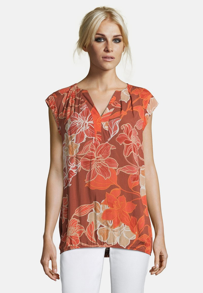 Cartoon - MIT MUSTER - Blouse - red/red