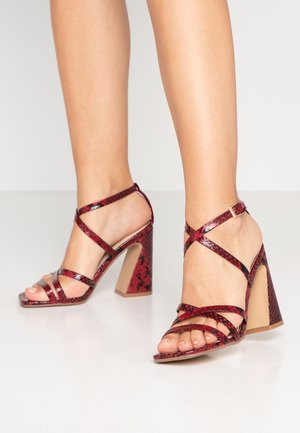 MEREDITH - Sandalias de tacón - red