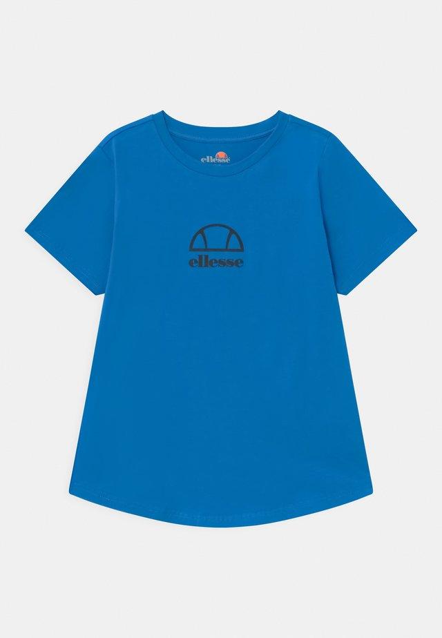 MARYAM UNISEX - T-shirt imprimé - neon blue