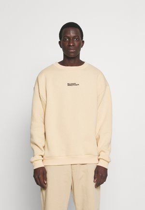 BRANDED CREW NECK UNISEX  - Sweatshirt - taupe