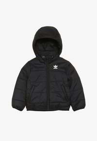 adidas Originals - JACKET - Winter jacket - black/white - 4